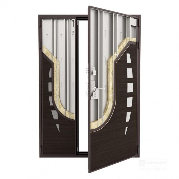 Дверь Гардиан ДС-2 двухстворчатая