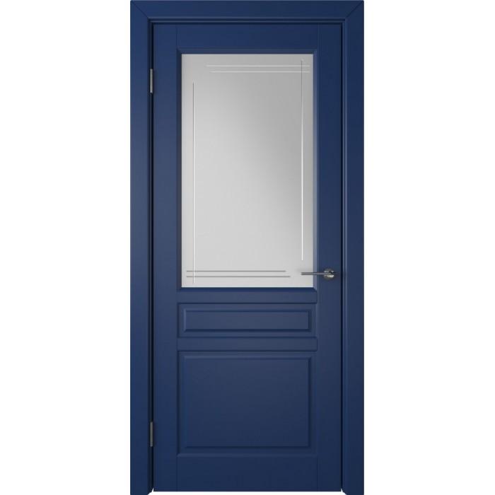Стокгольм синяя эмаль