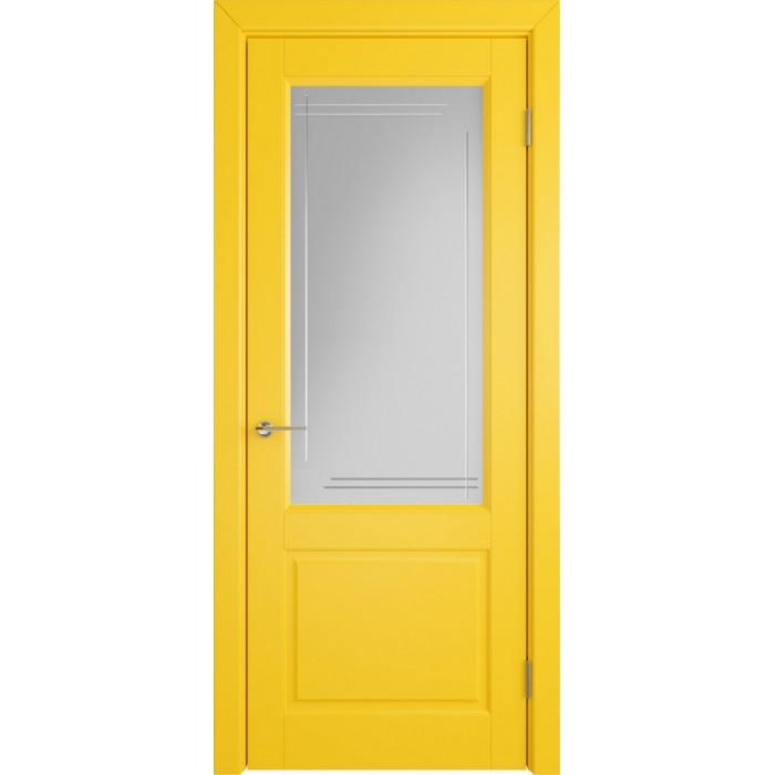Доррен желтая эмаль